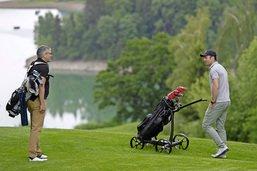 Le chariot de golf autonome est né