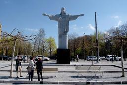 La réplique de la statue du Christ Rédempteur a déjà été vandalisée