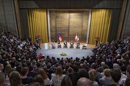 Le président allemand en visite à Fribourg