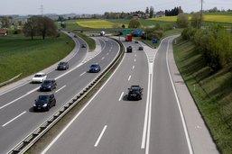 La voie gauche de l'autoroute A12 fermée après un accident