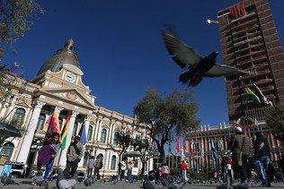 Le nouveau palais du président Evo Morales fait polémique