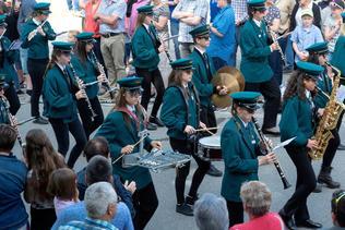 Cortège du Giron des musiques de la Broye