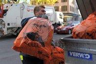 Des agents de sécurité pour surveiller les déchets