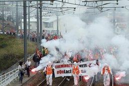 Moins de 10% de cheminots français en grève pour le pénultième épisode