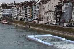Vague artificielle sur le Rhin à Bâle: renvoi à l'été 2019 au mieux