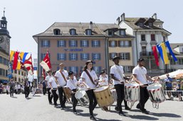 Fifres et tambours: près 50'000 visiteurs en quatre jours à Bulle