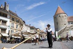 Succès pour la grande fête du yodel à Yverdon (VD)