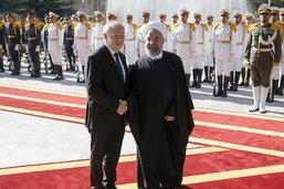 Le président iranien Hassan Rohani en visite d'Etat en Suisse