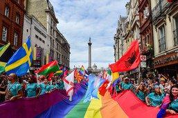 """Londres dévoile un plan pour """"améliorer la vie"""" des LGBT"""
