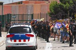 Six dirigeants indépendantistes incarcérés transférés en Catalogne