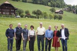 Le Conseil fédéral découvre le canton de Fribourg