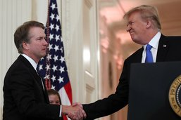 Trump nomme le juge conservateur Brett Kavanaugh à la cour suprême