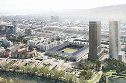 Zurich: projet de stade de football approuvé par le législatif