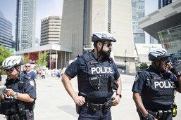 """Toronto: présence policière après un """"risque"""" pour la sécurité"""