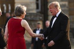 """""""Quoi que vous fassiez, ça me va"""", dit Trump à May"""