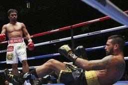 Manny Pacquaio récupère un titre mondial