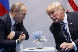Rencontre au sommet à Helsinki entre Trump et Poutine