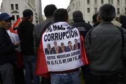 Un scandale emporte le président de la Cour suprême du Pérou