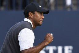 Woods revient fort, Spieth à 18 trous du doublé