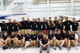 """L'équipe de l'EPFL termine troisième au concours """"Hyperloop"""""""