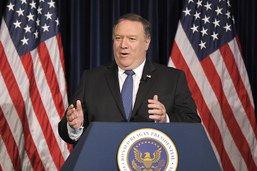 """Washington """"n'a pas peur"""" de sanctionner le régime iranien"""