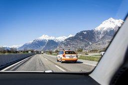 Piéton fauché sur l'autoroute en Valais