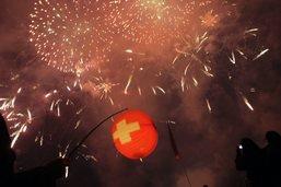 Fortes restrictions pour les feux d'artifice le 1er Août