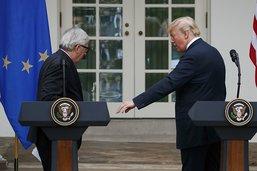 Trump et Juncker ont parlé de l'agriculture, maintient Washington