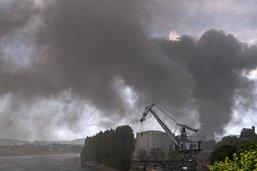 L'incendie dans le port de Bâle est éteint