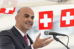 Alain Berset fait l'éloge de la Constitution suisse