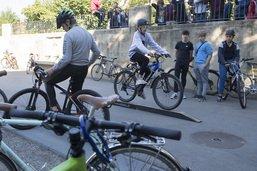 Près de 3000 élèves ont pédalé jusqu'à l'école