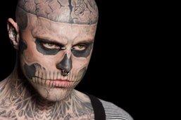 Mort de Zombie Boy, le mannequin tatoué de la tête aux pieds
