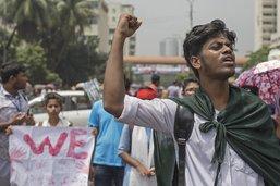 Les étudiants manifestants au Bangladesh appelés à rentrer chez eux