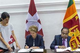 La Suisse et le Sri Lanka concluent un partenariat migratoire