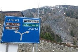 Italie: deux morts dans un glissement de terrain dans le Val Ferret