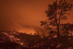La Californie ravagée par un nouvel incendie record