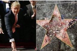 Hollywood demande le retrait de l'étoile de Trump du Walk of Fame