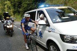 Philippe Gilbert, blessé au Tour, a repris l'entraînement