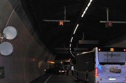 Quatre blessés dans un accident dans un tunnel à Schaffhouse