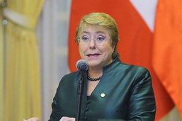 ONU: l'Assemblée générale confirme la nomination de Bachelet à la tête des droits de l'homme