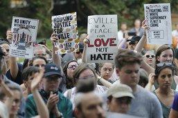 Pas d'incident au rassemblement antiraciste de Charlottesville