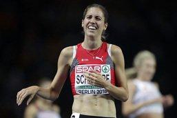 3000 m steeple: Fabienne Schlumpf en argent