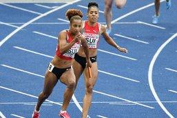 4x100 m: les Suissesses au 4e rang