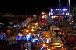 Festival: plus de 300 blessés dans l'effondrement d'une plateforme