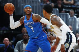 Carmelo Anthony rejoint les Rockets
