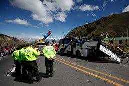 Un accident d'autocar en Equateur fait au moins 24 morts