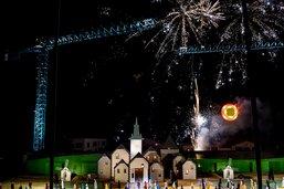 Début du spectacle Solstices mercredi à Echallens (VD)