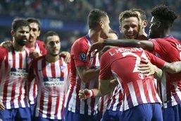 Super Coupe d'Europe: l'Atletico fait chuter le Real