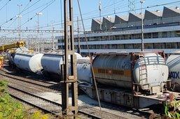Un train de marchandise déraille à Bâle- Pas de blessés