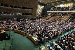 """""""Pétition vivante"""" à l'ONU à l'adresse des dirigeants mondiaux"""